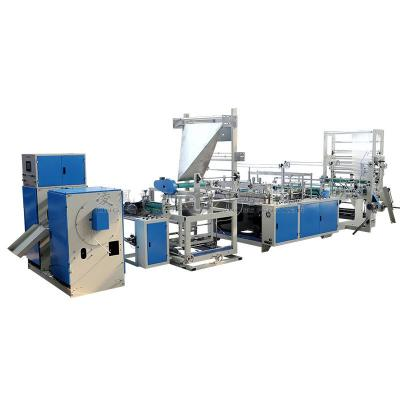Automatic Draw Tape Bag-on-rolling Making Machine With Coreless